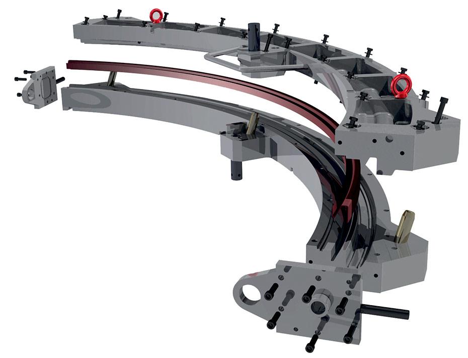bras de contrôle de mise au point manuelle du caméscope